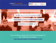 Tablet Preview of admission-postbac.fr